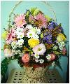11 роз, 7 гербер, 9 астер, 5 кустовых хризантем
